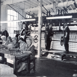 the factory in 1930